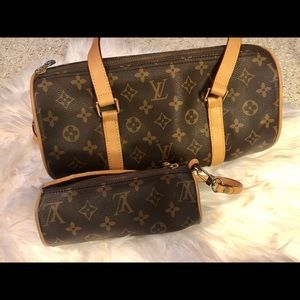 Luxury handbag & change purse